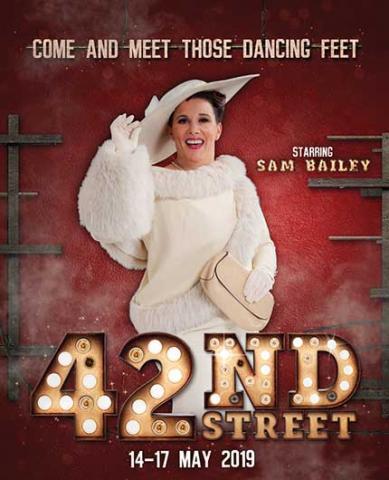 sam bailey 42nd street